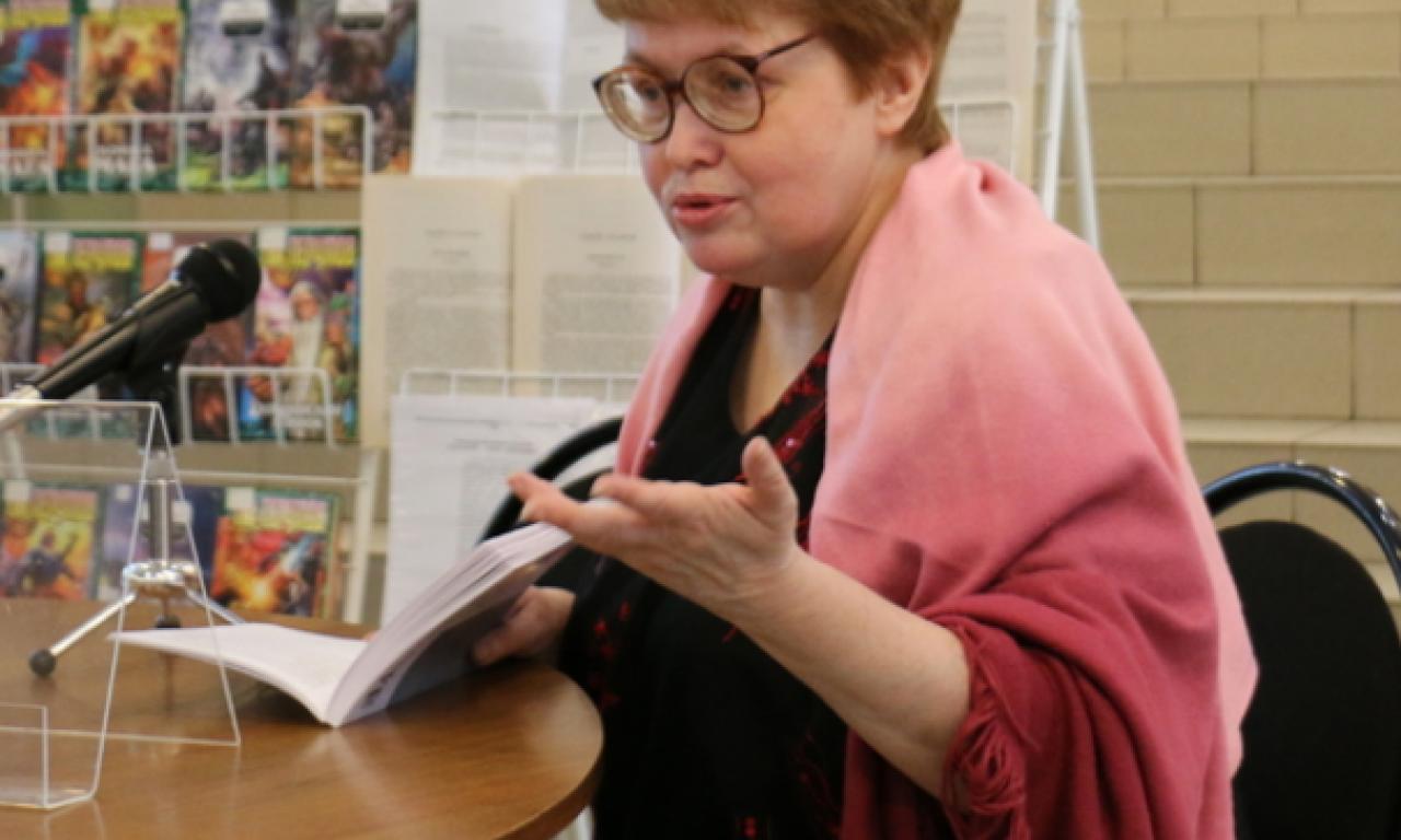 Преподаватель Петрозаводского Государственного Университета филолог Гусарова Анна Дмитриевна - миры русской фэнтези Анны Гусаровой