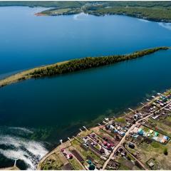 туризм на воде в Сибири.озеро Большое.