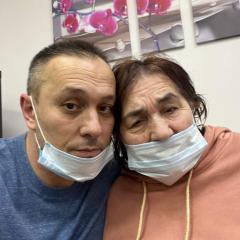 С Мамой на лечении