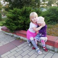 Дочечки:Марта и Люция