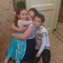 Дочки  и племянница