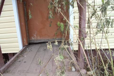 """Вход в мою квартиру после """"капитального"""" ремонта"""