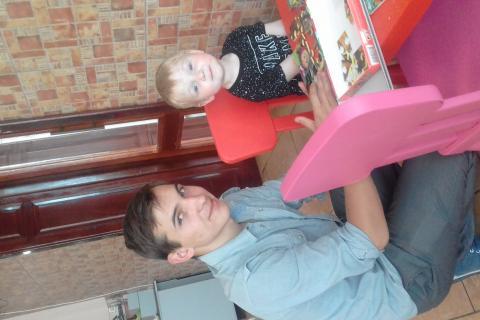 Мои сынульки)