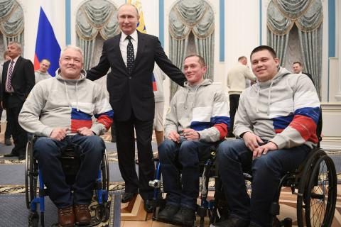Инвалиды России. История