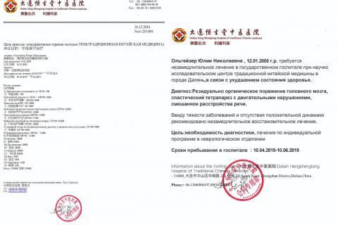 Это наши документы из Китая
