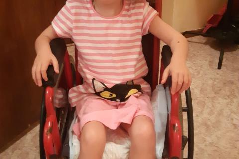 Алиса инвалид ДЦП