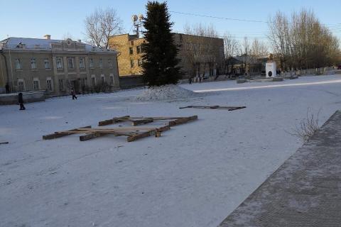 Наша новогодняя ёлочка)