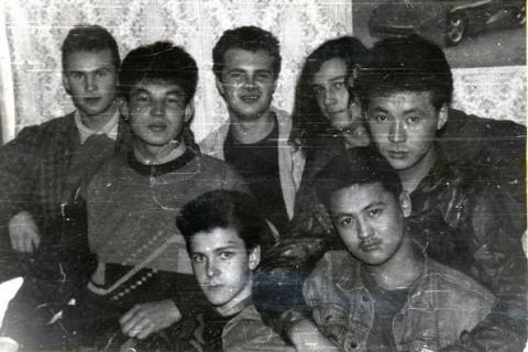 Общежитие Музыкального училища, города Петропавловск, Северо-Казахстанского училища. 1993-ий год.
